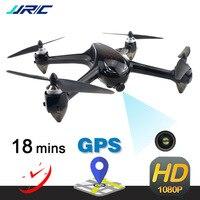 Новый JJRC X8 Профессиональные с GPS Радиоуправляемый Дрон с 5G WiFi FPV 1080 P HD камера режим удержания высоты бесщеточный Квадрокоптер VS B5W игрушки по