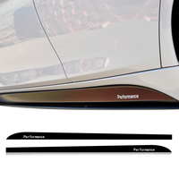 2.05/2.15/2.3M M SPORT Performance Side Stripe Skirt Sill Decal Car Sticker for BMW F30 F10 F11 F01 E60 E61 E90 E91 G30 F34 F15