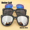 M1073 Full Rim Eyewear Fashion Women Spectacles Outdoor Eyeglasses UV400 Sunglasses
