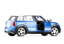 Wenhsin 1:36 Mini countryman Cooper Toy Vehicles Alloy Car Original Factory Car Model Toys Pull Back For Kids Birthday Gifts