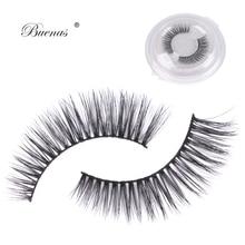 Buenas 3D lash hand made 3d lashes strip eyelash extensions soft cilios Falsche wimpern Faux cils Pestanas Falsas