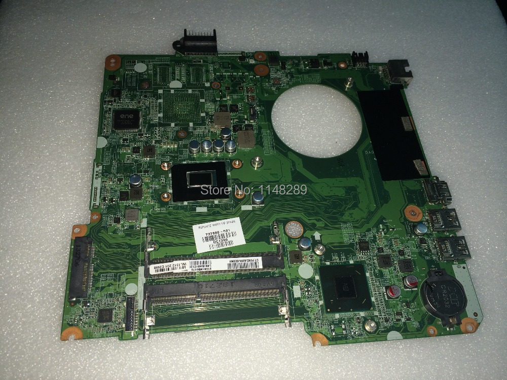 FREE SHIPPING DA0U81MB6C0 REV : C Laptop Motherboard for HP pavilion 15 15-N NOTEBOOK PC COMPARE BEFORE ORDER