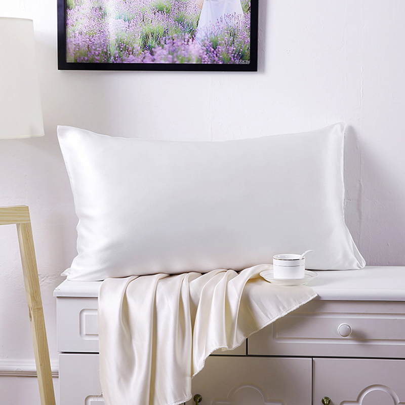 51x76cm 100 Pure Mulberry Silk Pillowcase With Cotton