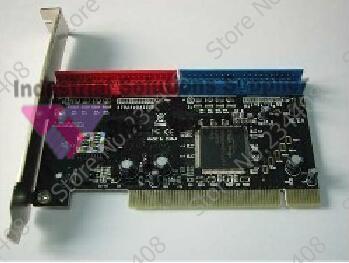 ФОТО Desktop Pci Ide Card Ata133ide Array Card 0680 Chip Hard Drive Expansion Card