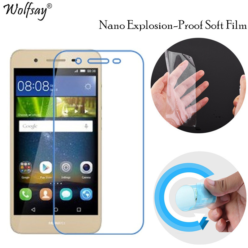 2PCS Full Soft Screen Protector sFor Huawei GR3 Glass Film Scratch-Resistant TPU Film For Huawei GR3 Protective Film Not Glass