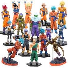 10-26 см Dragon Ball Z DXF фигурки стволы Вегета Супер Saiyan Бог Сон Гоку Фриза куририн Коллекционная модель игрушки драконбол куклы