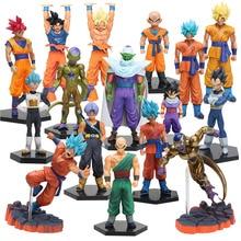10 26cm Dragon Ball Z DXF Figures Trunks Vegeta Super Saiyan God Son Gokou Freeza Kuririn Collectible Model Toy Dragonball Dolls
