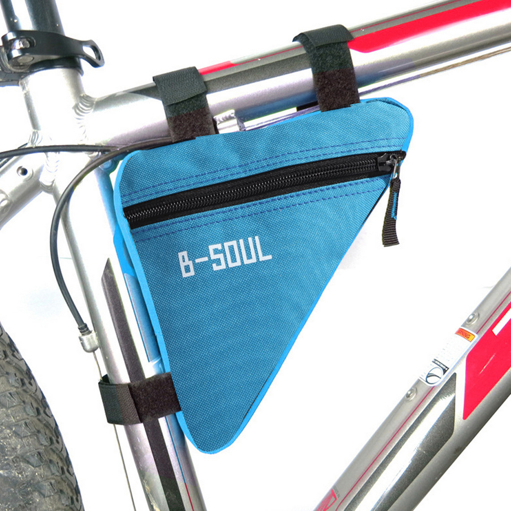 Triangle Cycling Bicycle Front Tube Frame Pouch Bag Holder Saddle Pannier Hot WE