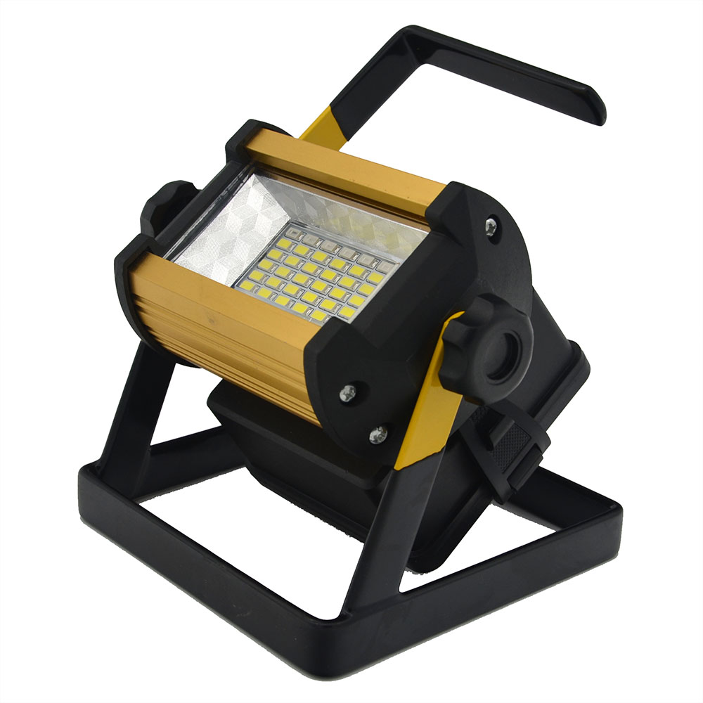 Refletor LED Outdoor Lighting Refector Flood Light Lamp Floodlight 50W 36LEDs Spotlight Garden Lamp  & Charger Free Shipping клоги quelle gabor 86924153