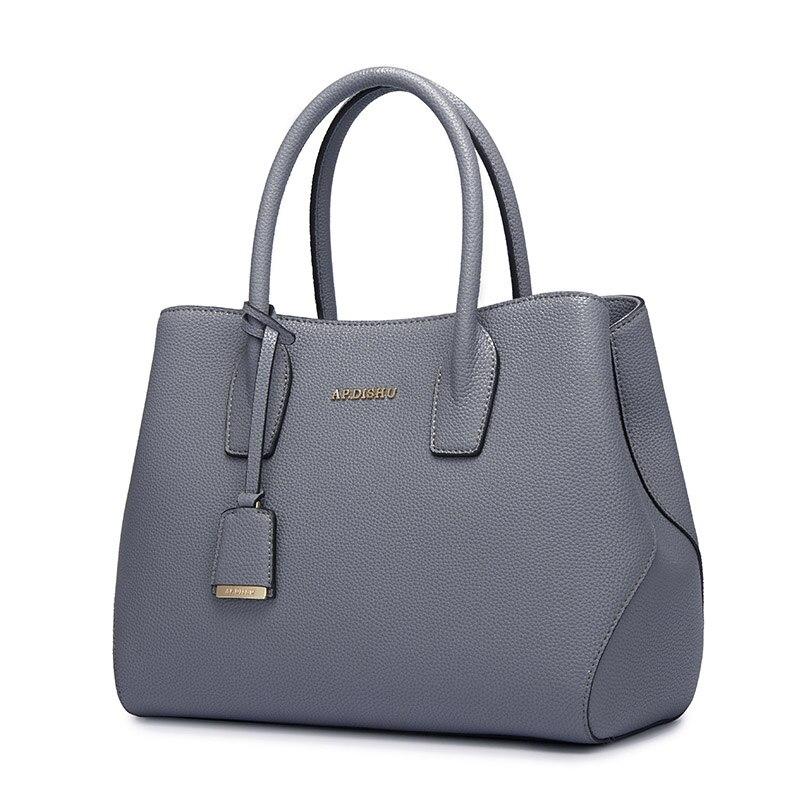 Persönlichkeit Luxus designer black Handtaschenfrauen Perfekte Eine Leder Handtaschen Temperament Gray dark Magische Beige Ist Und Red Zubehör blue Frauen q4F8vWn