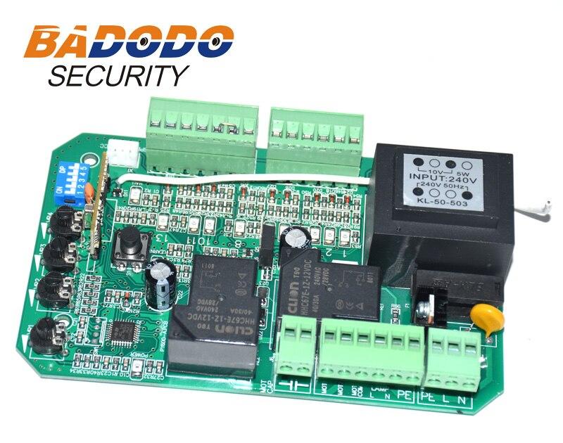 AC110v 220V Smart Circuit Board Control Card Mother Board For Sliding Gate Opener Motor(PY600ac SL600 SL1500 PY800 Model)