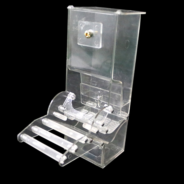1 Pcs Feeder Bird Automatic Feeders Bird Food Ontainer  Bird Food Feeders For Pigeons Parrot Starling Pet Birds Feeding Devices
