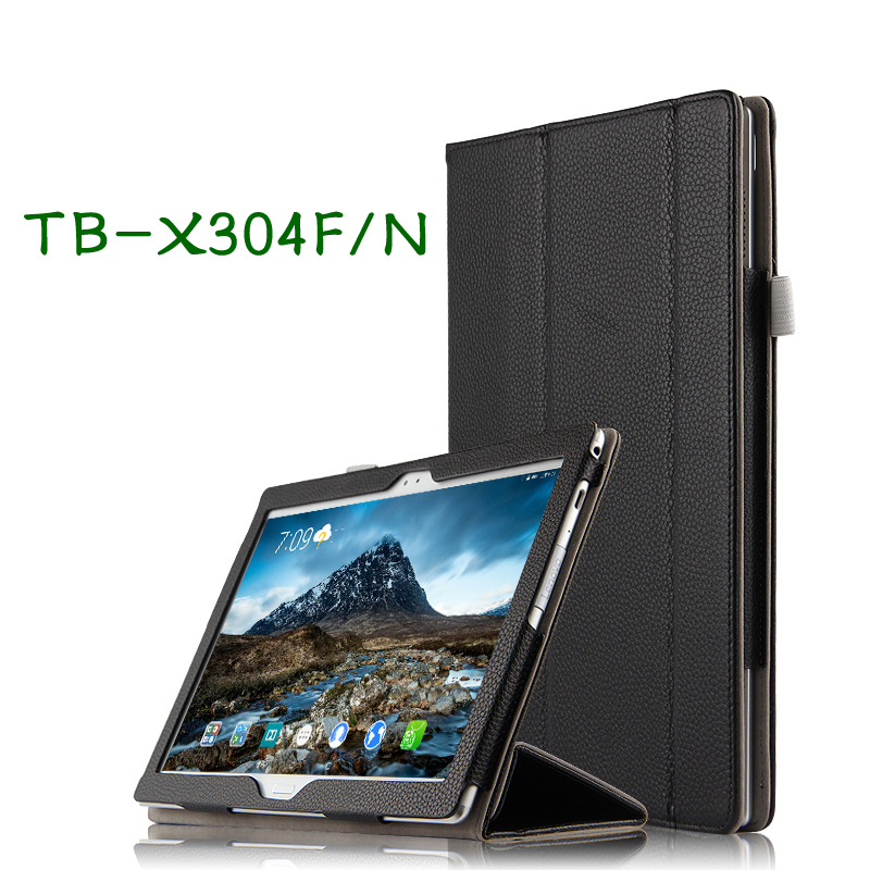 High Quality Genuine Real Leather Stand Shell Cover Mangetic Coque Funda Case For Lenovo TAB 4 10 TB-X304F TB-X304N 10.1 Tablet la mer la mer gd104001