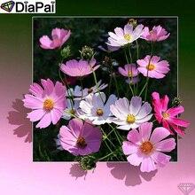 DiaPai Diamond Painting 5D DIY 100% Full Square/Round Drill Flower landscape Diamond Embroidery Cross Stitch 3D Decor A24758 цена