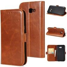Rosany Магнитный кожаный чехол для Samsung Galaxy A3 A5 A7 J3 J5 J7 S7 край S8 плюс Чехол для телефона с откидной крышкой