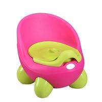 Portable Baby Potty Cartoon Pot Toilet Plastic Training Boy Girls Toilet Children Potty Seat FJ88