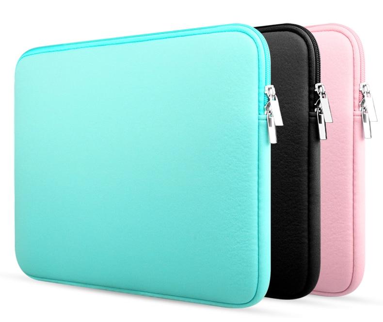 Newest Women Men 11 13 14 15.6 inch Universal Laptop Ultrabook Notebook Soft Bag for Macbook Air Pro Sleeve Case