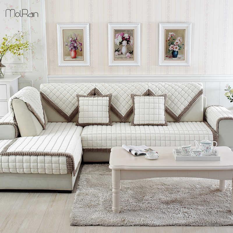 Groovy 2019 Hot Sofa Covers For Living Room Velvet Warm Soft Short Links Chair Design For Home Short Linksinfo