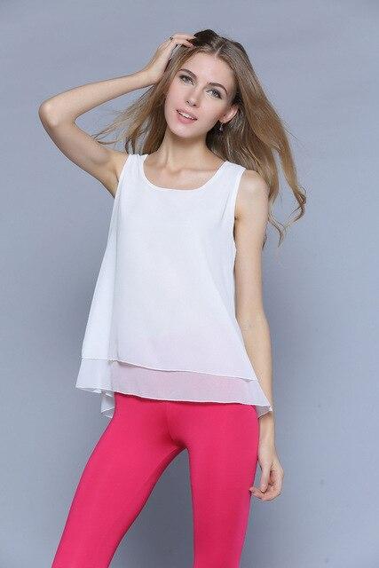 Mulheres Blusas camisa sem mangas camisola de fitness colete Vestido mulheres Tanque Solto top Marca de estilo de Verão Nova Chegada do vintage MS Tops