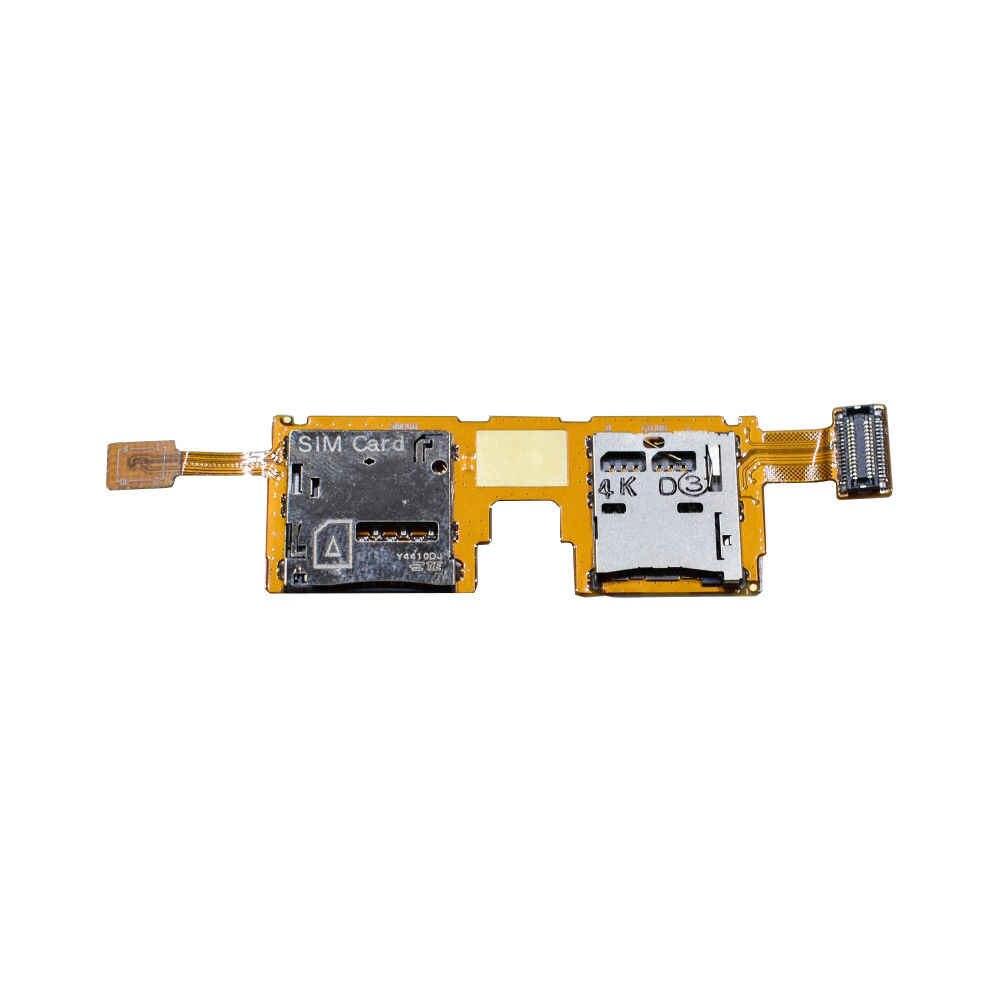 Đối Với Samsung Galaxy Lưu Ý Pro 12.2 P900 P901/LTE P905 Micro SD Bộ Nhớ Thẻ Chủ Đầu Đọc Khe Cắm Flex Cable