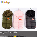 2016 New Winter Sleeping Bag Baby Sleeping Bags For Stroller With Footmuff Infant Cartoon Bear Sleeping Bag Kids 100% Cotton