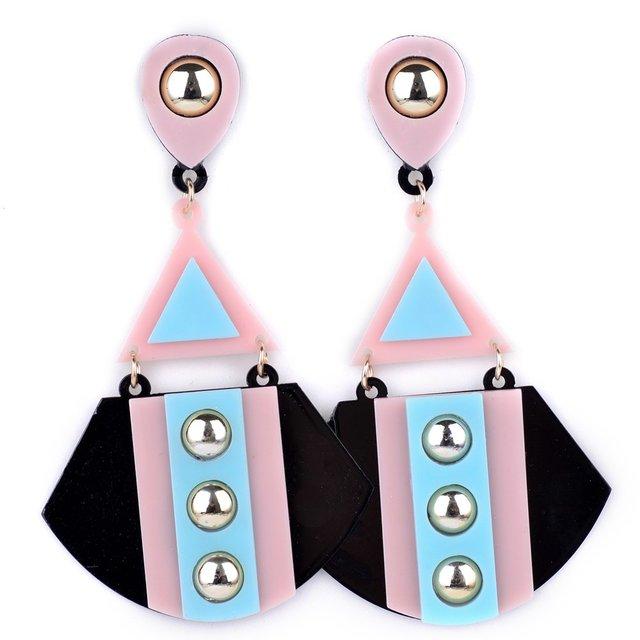 Оптовая Новая Мода Геометрическая Нерегулярные серьги ювелирные изделия серьги pendientes mujer moda