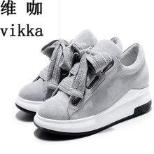 2017 натуральная кожа обувь на плоской подошве женская обувь на шнуровке на платформе лоферы на плоской подошве большая база лук низкие кожаные обувь большой размер 34–43
