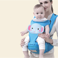 Detachable Cartoon Baby Carrier 3 36 Months Breathable 3 In 1 Front Facing Baby Carrier Backpack