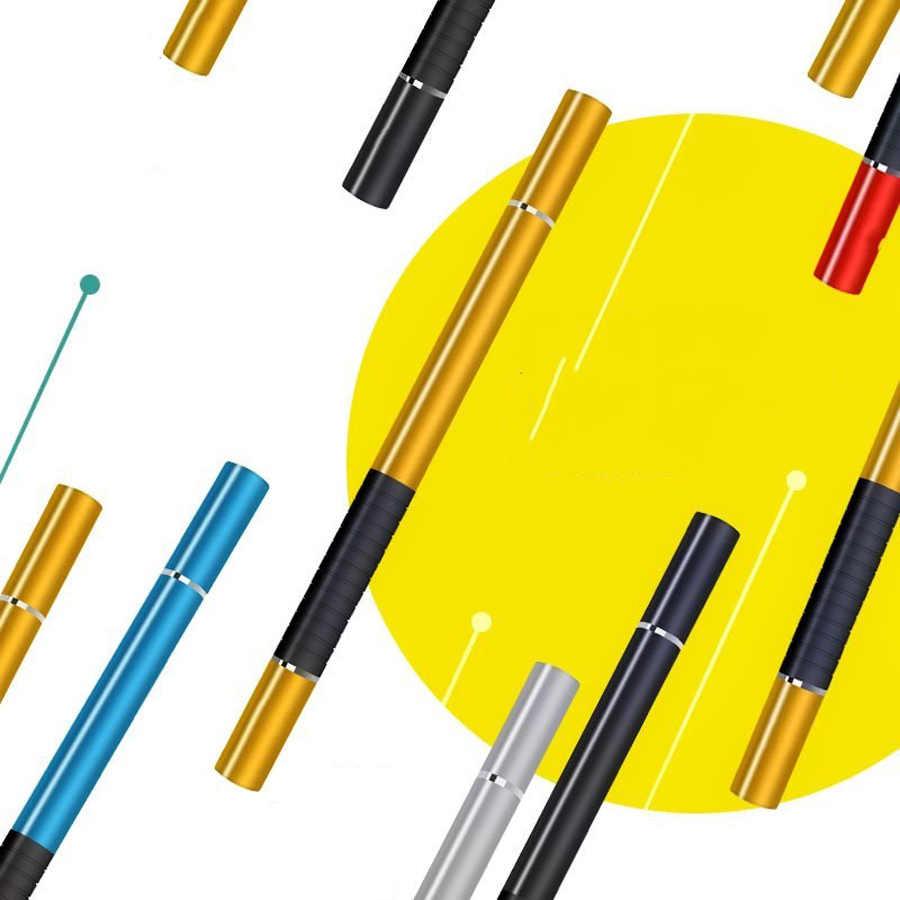 2019 PINZHENG 2 في 1 عالمي قلم اللمس القلم للهاتف بالسعة اللوحي ستايلس القلم الهاتف المحمول ستايلس لوح رسم الأقلام
