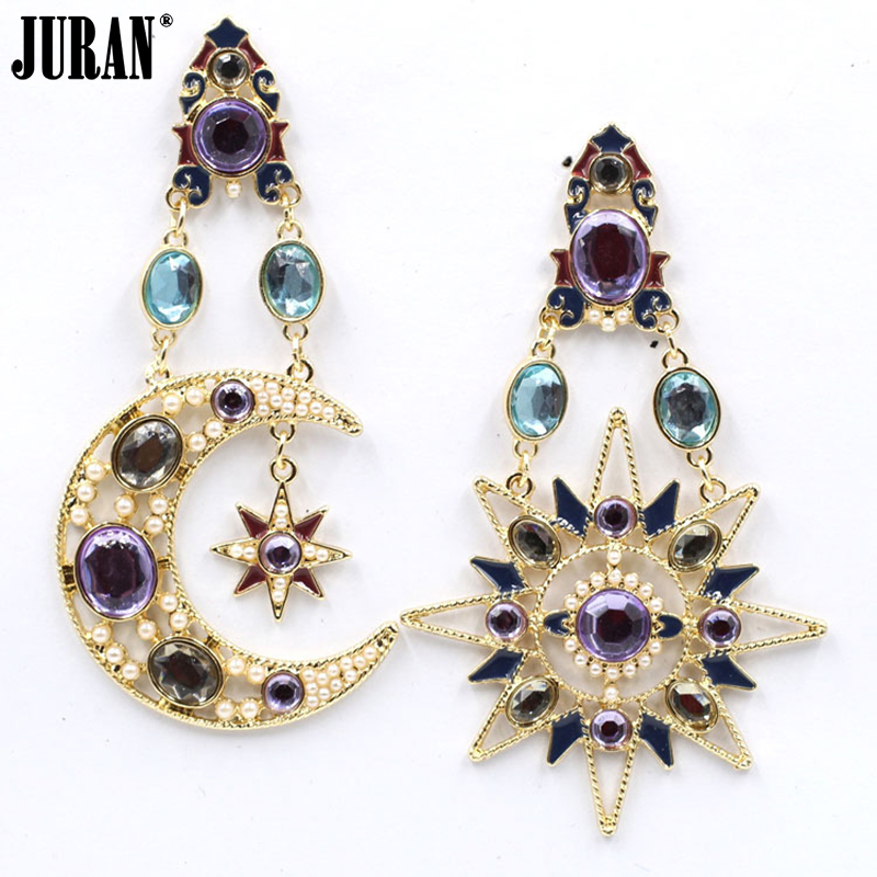 aliexpress buy moon pendant stud earrings