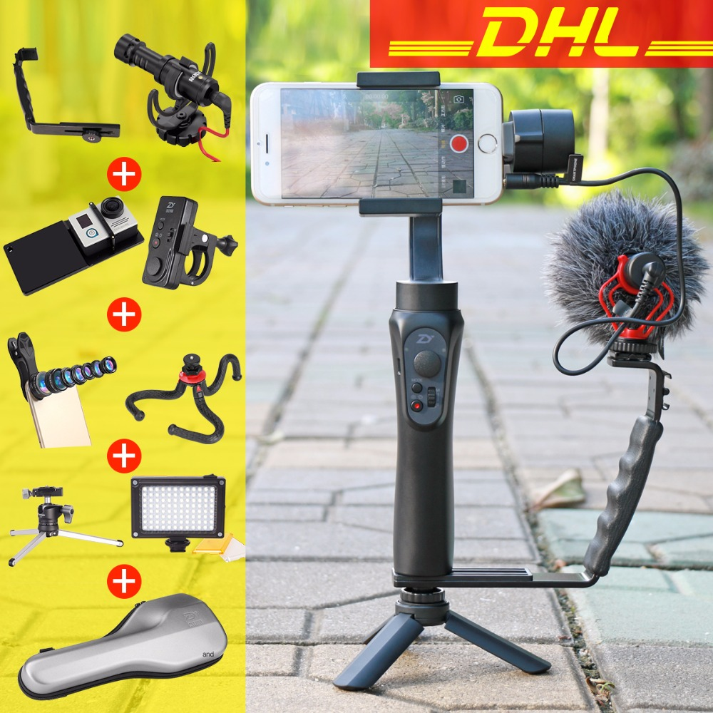 Zhiyun Smooth Q Handheld 3 Axis Smartphone Handheld Gimbal Video Stabilizer Mobile Stabilizing Steadycam For IPhone