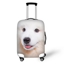 Hot Fashion Travel Dog print Luggage Cover Protective Suitcase cover Trolley case Travel Luggage Dust cover for 18 to 30inch