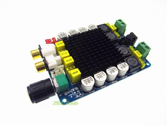 Усилитель совета TDA7498 Класса D 2X100 Вт Двухканальный Аудио Стерео 80 Вт + 80 Вт Цифровой усилитель Совета Модуль Бесплатная Доставка