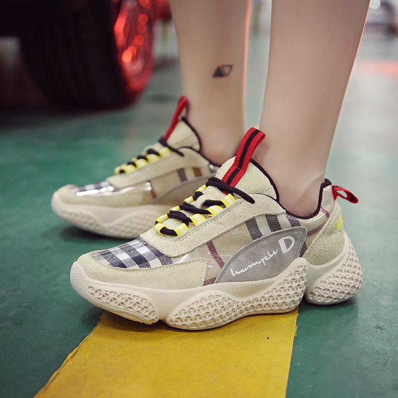 все цены на Spring Autumn Women Casual Shoes Comfortable Platform Shoes Woman Sneakers Ladies Trainers chaussure femme
