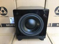 250W amplificador subwoofer Home Theater Subwoofer Speaker Double 8 inch hifi Active woofer amplifier low pass filter subwoofer