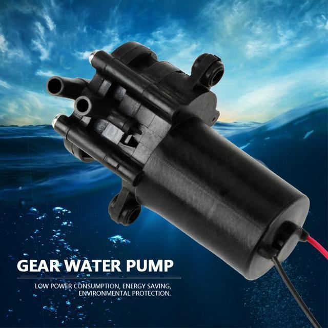 ZC A250 Ingranaggi Pompa Acqua DC24V Mini Auto Ingranaggio di Plastica Resistente Alla Corrosione autoadescante Pompa Acqua