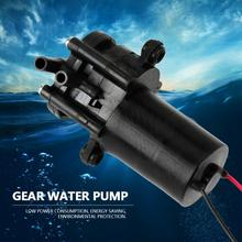 ZC A250 dişli su pompası DC24V Mini kendinden emişli korozyona dayanıklı plastik dişli su pompası