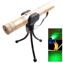 Big sale 4mw 532nm 303 Green Beam Gypsophila Pattern Adjustable Focus Laser Pointer with Holder (not included battery)