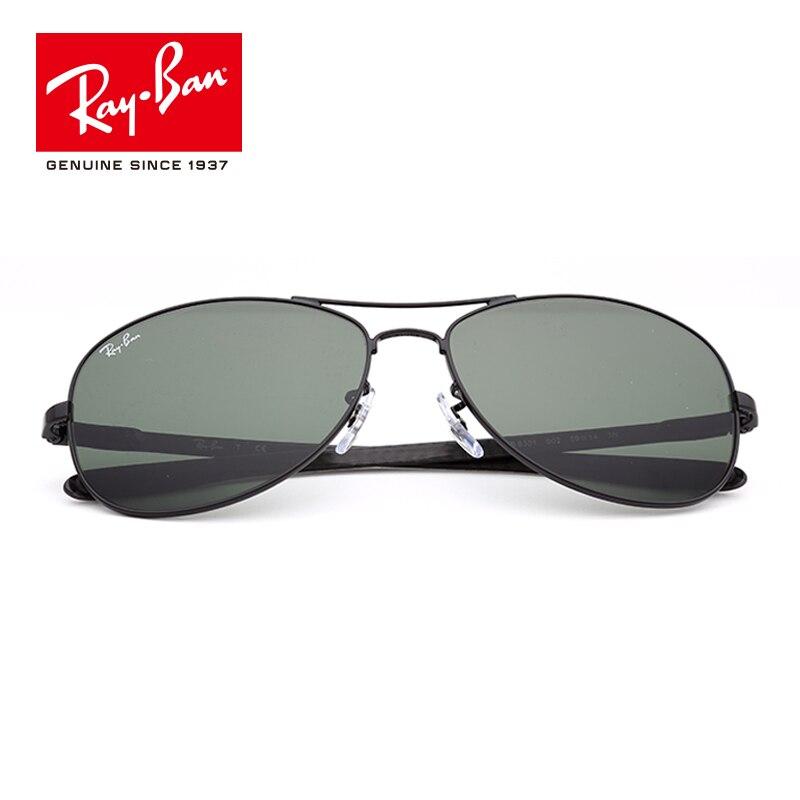 2a2d29f5df 100% Original Rayban Oval Sunglasses Polarized Lens Eyewear Accessories Sun  Glasses classic prescription RB8301 002-in Hiking Eyewears from Sports ...