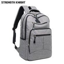 Mochila de moda para hombre, bolsas de viaje, bolso escolar informal, mochila impermeable para ordenador portátil, mochilas para hombre, mochila casual para hombre