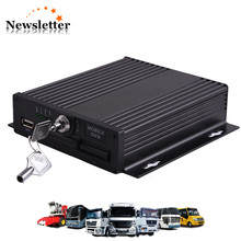 720P 4 Channel AHD SD Card mdvr with sim card 4CH Mobile DVR Russian Menu Korean Menu