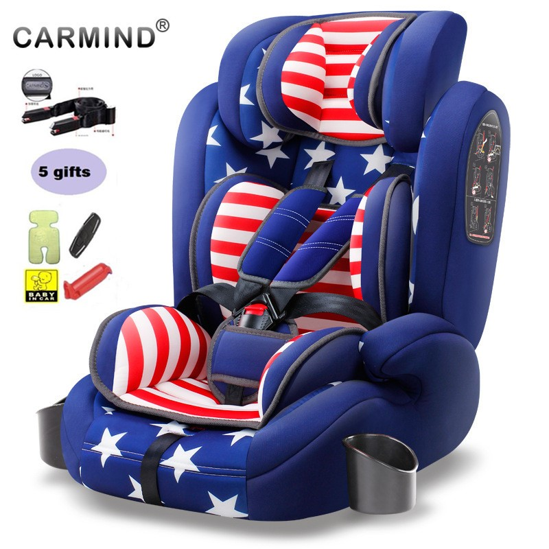 Carmind EU certified Baby Car Seat Kids Safety Chair Booster Car Seat Group 1/2/3, 9 month to 12 Years ISOFIX, Get 5 USD coupon chair