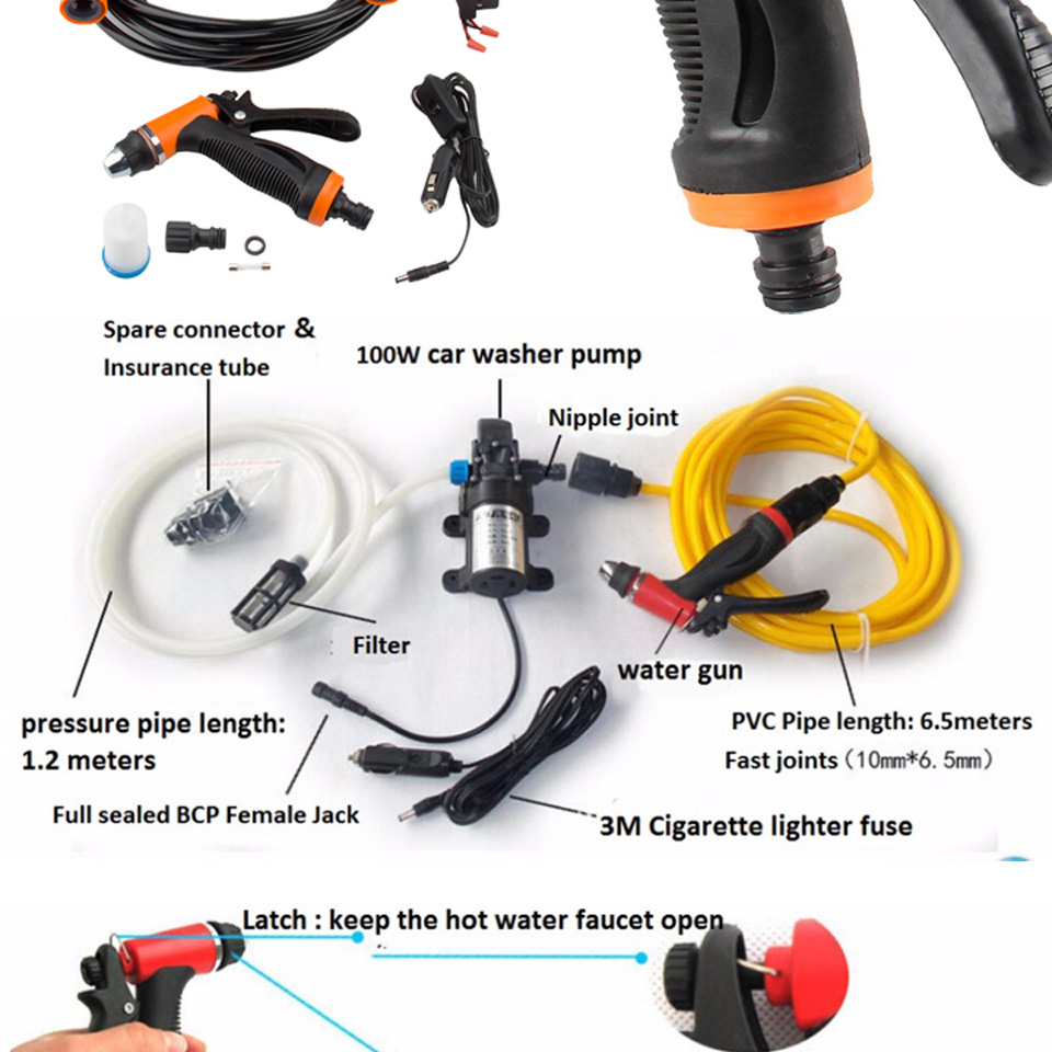 Pressure Pump Wash Portable 5
