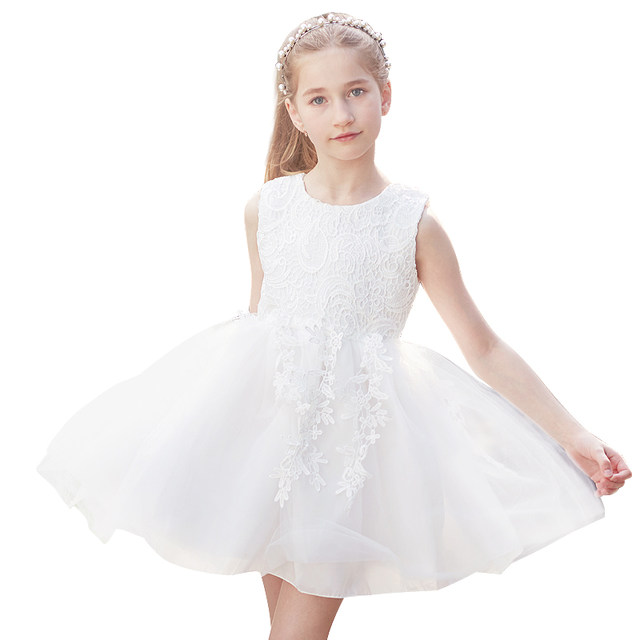 Online Shop Baby Girl Dress Children Toddler Girl Clothes Wedding ...
