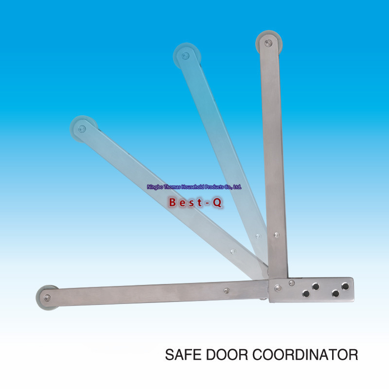 Free shipping Stainless steel security door / access door / gate device / positioning buffer door closers the ivory white european super suction wall mounted gate unique smoke door