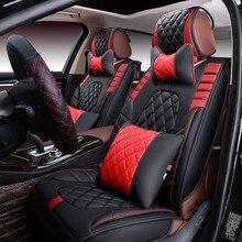 New 6D font b Car b font Seat Cover Universal Seat Cushion Senior Leather font b