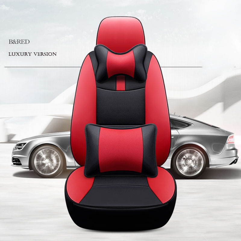 custom cowhide car seat cover 7 seats for Mercedes Benz Viano Vito R Class V Class GL GLS Chevrolet Captiva for car accessories image