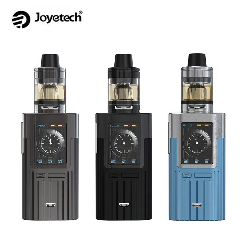 Original Joyetech ESPION Kit 200W ESPION Box Mod Vape with ProCore X 2ml/4.5ml Atomizer Tank E Cigarette Kit original joyetech procore remix tank 2ml 4 5ml rta rda sub ohm atomizer support dual single coil electronic cigarette tank
