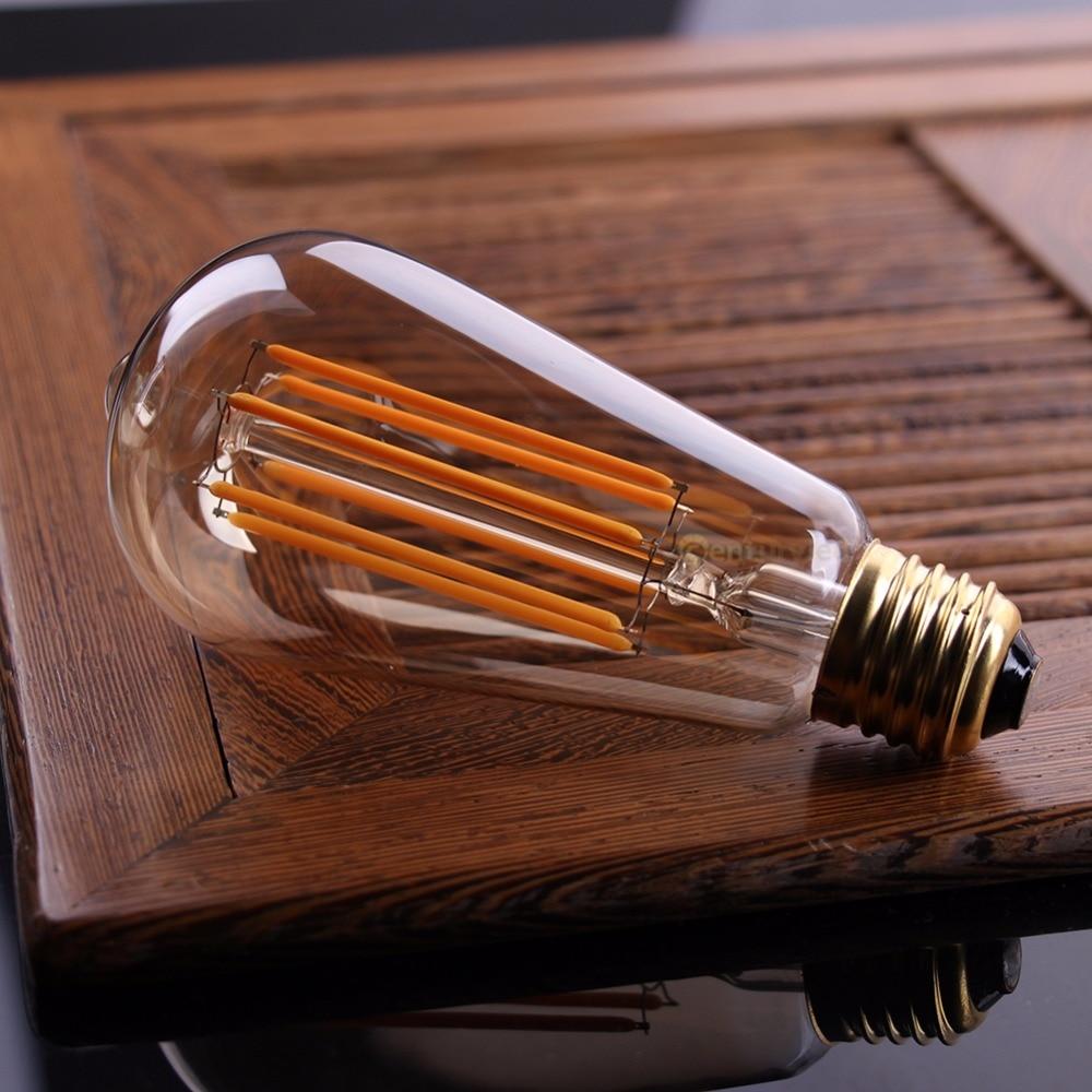 Lâmpadas Led e Tubos ser escurecido Bulb Tyoe : Gold Tint