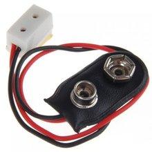 Кукольный домик миниатюра 9V Батарея разъем w/провода и один сосуд LA005